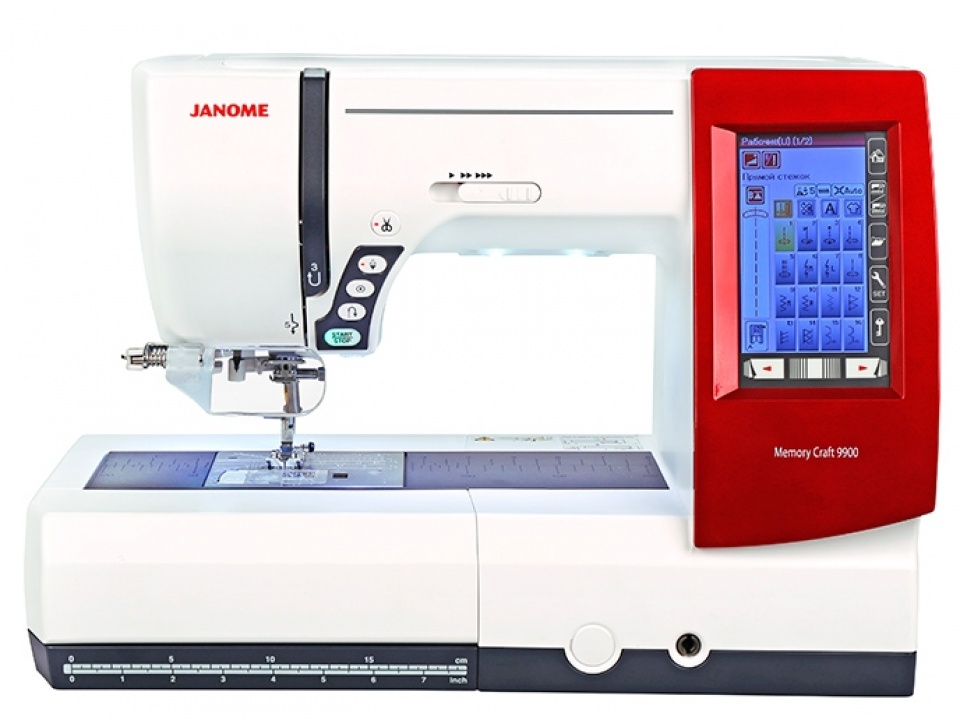 Janome Memory Craft 9900 (MC 9900)