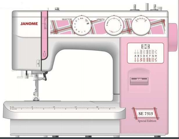 Janome SE 7515 (Special Edition) - фото и цены в Минске
